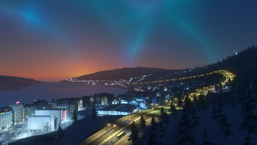 Cities Skylines - Snowfall (Addon) Screenshot 1