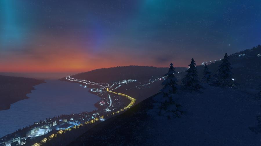 Cities Skylines - Snowfall (Addon) Screenshot 5