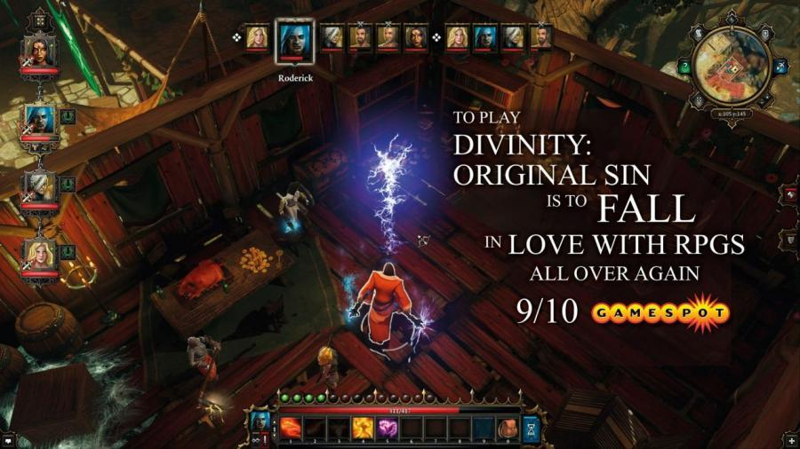 Divinity Original Sin Enhanced Edition - Steam Gift Key Screenshot 2