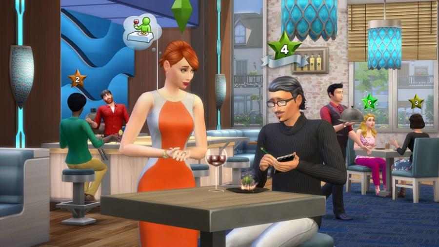The Sims 4 - Dine Out Bundle Screenshot 1