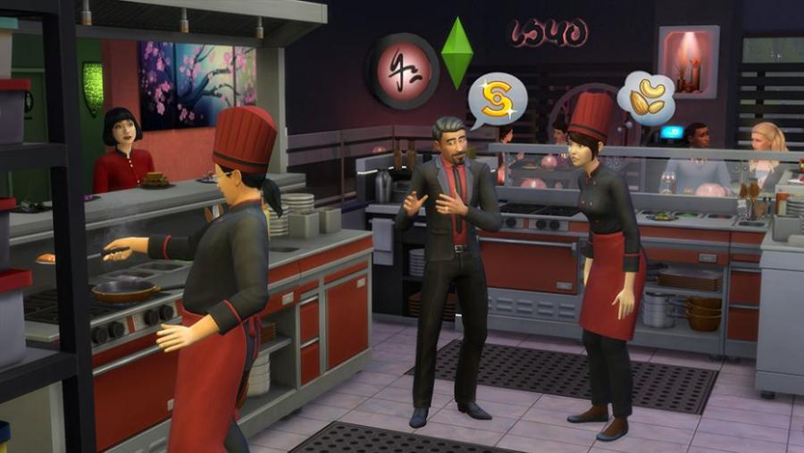 The Sims 4 - Dine Out Bundle Screenshot 2