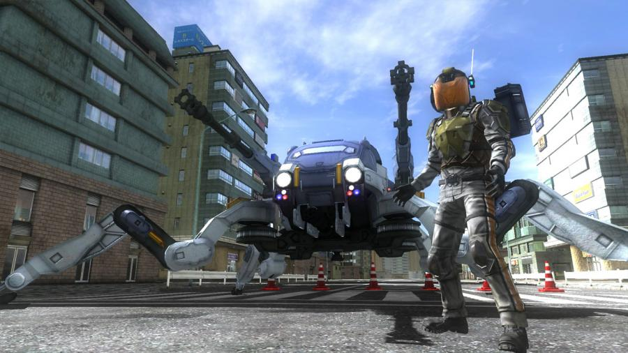 Earth Defense Force 4.1 - The Shadow of New Despair (Steam Gift Key) Screenshot 5