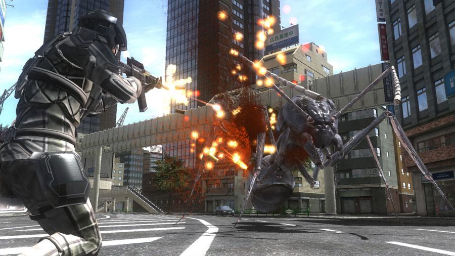 Earth Defense Force 4.1 - The Shadow of New Despair (Steam Gift Key) Screenshot 1