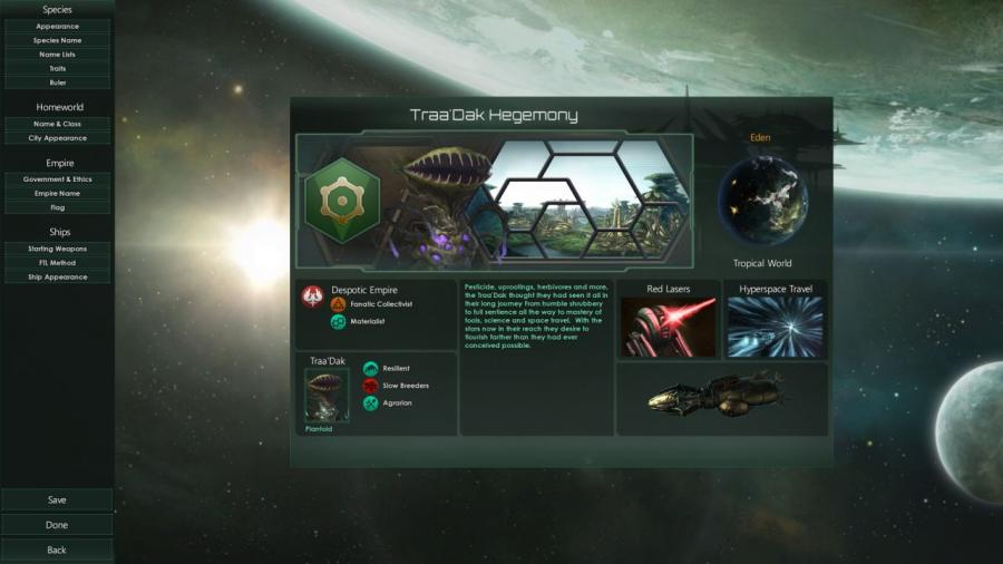Stellaris - Plantoids Species Pack (DLC) Screenshot 3
