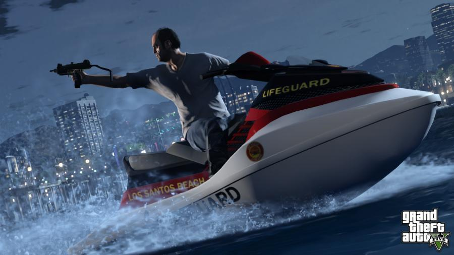 Grand Theft Auto V + GTA Online Megalodon Cash Card (8 million $) Screenshot 4