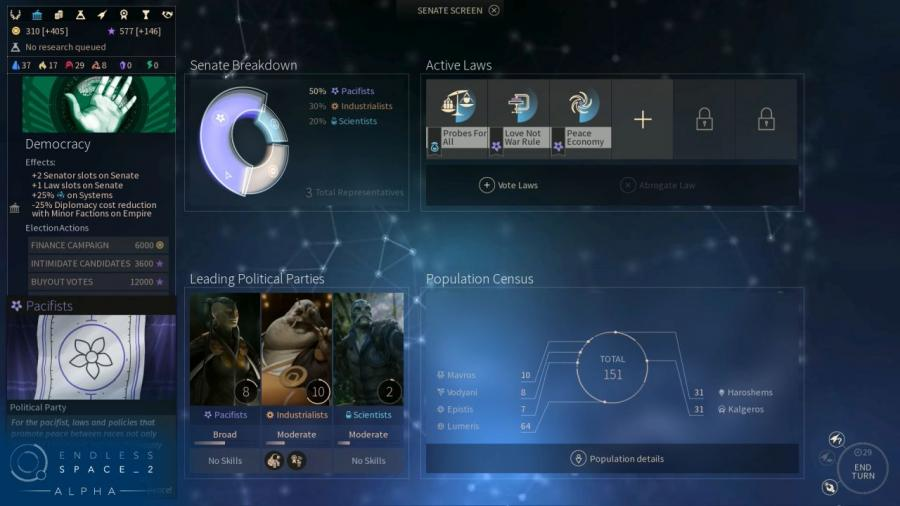 Endless Space 2 - Steam Gift Key Screenshot 4