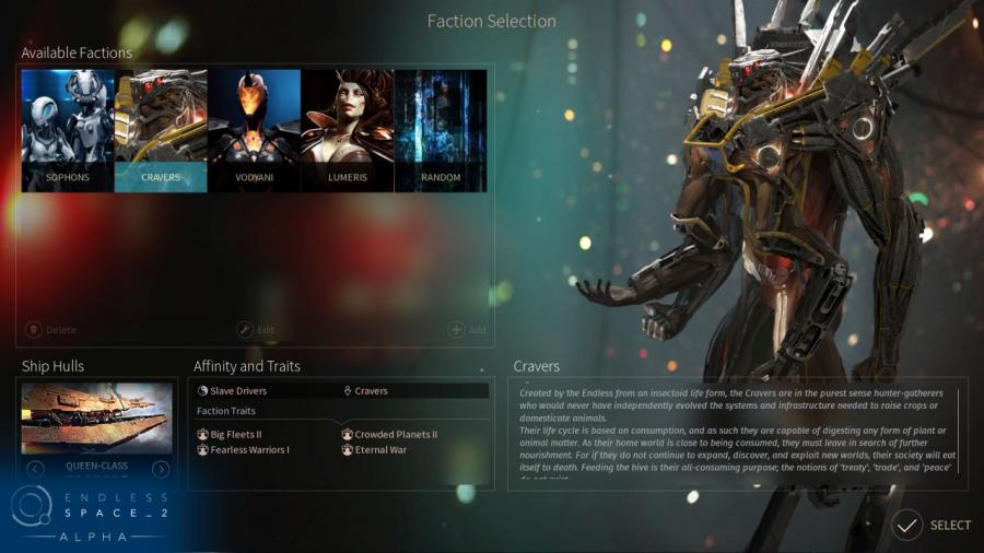 Endless Space 2 - Steam Gift Key Screenshot 3