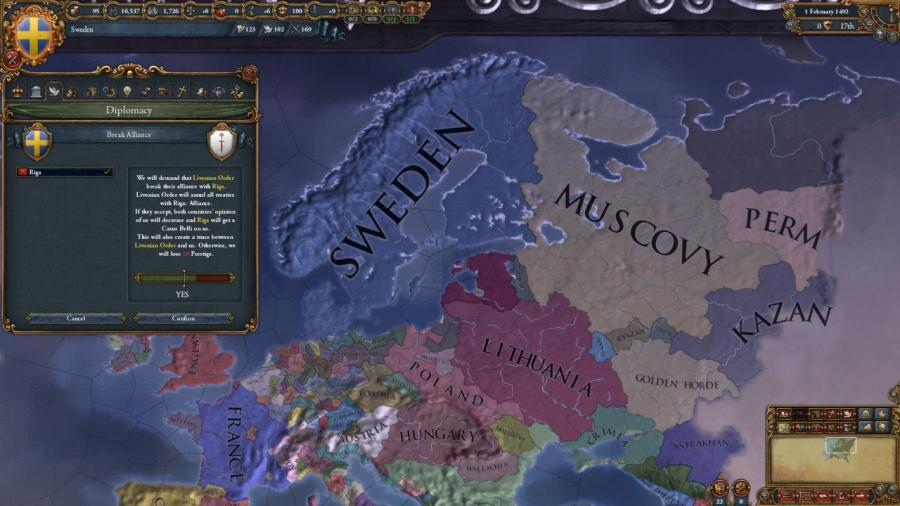 Europa Universalis IV - Rights of Man (Addon) Screenshot 3