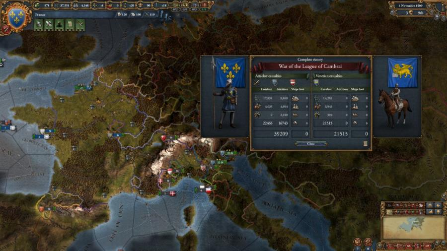 Europa Universalis IV - Rights of Man (Addon) Screenshot 2