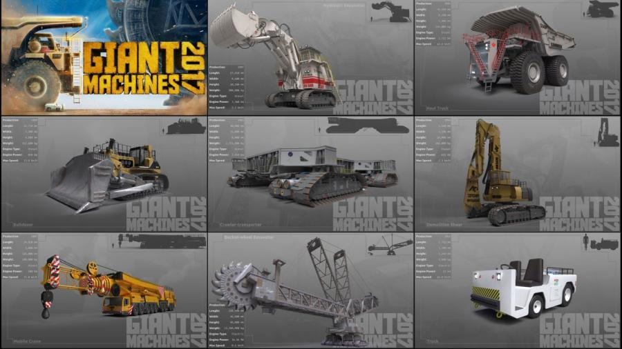 Giant Machines 2017 Screenshot 3