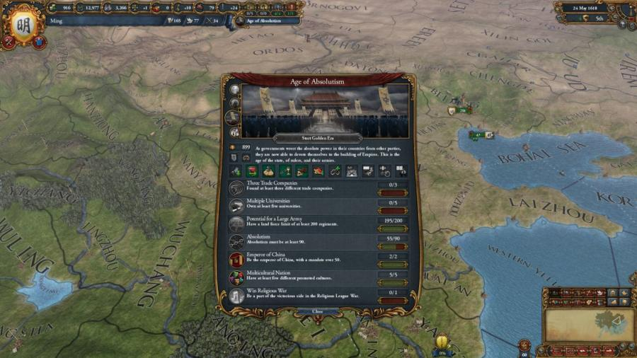 Europa Universalis IV - Mandate of Heaven (Addon) Screenshot 6