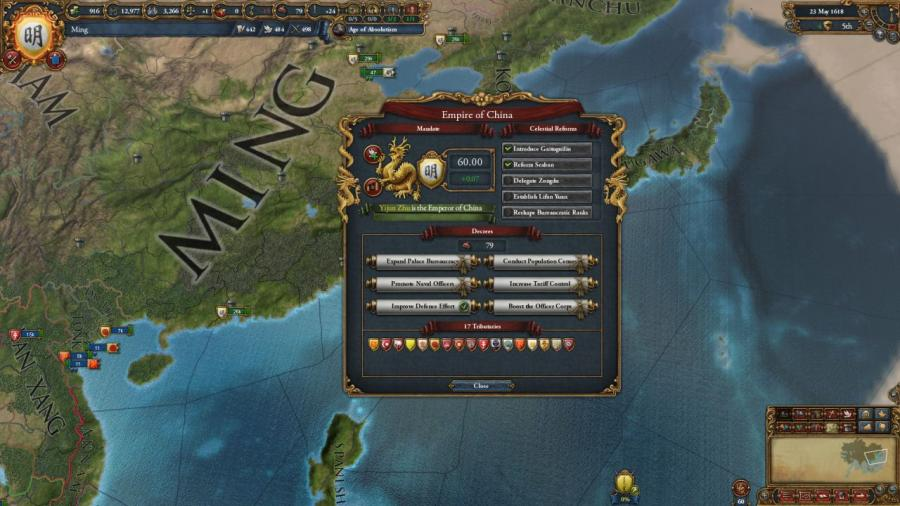 Europa Universalis IV - Mandate of Heaven (Addon) Screenshot 3