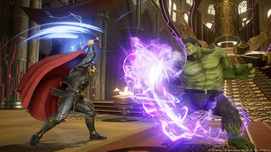 Marvel vs Capcom Infinite Screenshot 2