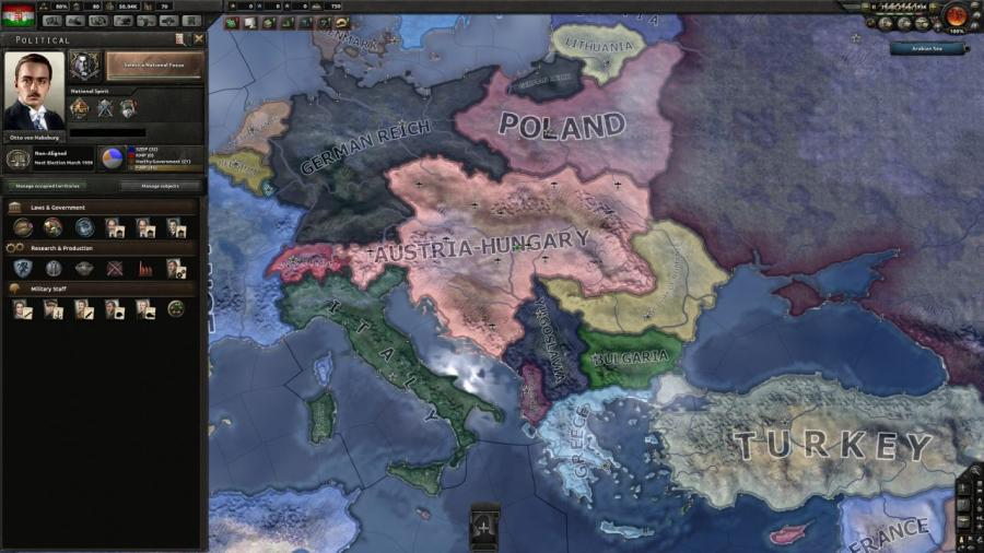 Hearts of Iron IV - Death or Dishonor (DLC) Screenshot 2