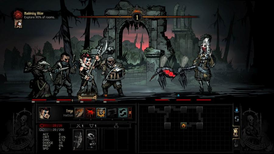 Darkest Dungeon - The Crimson Court (DLC) Screenshot 7