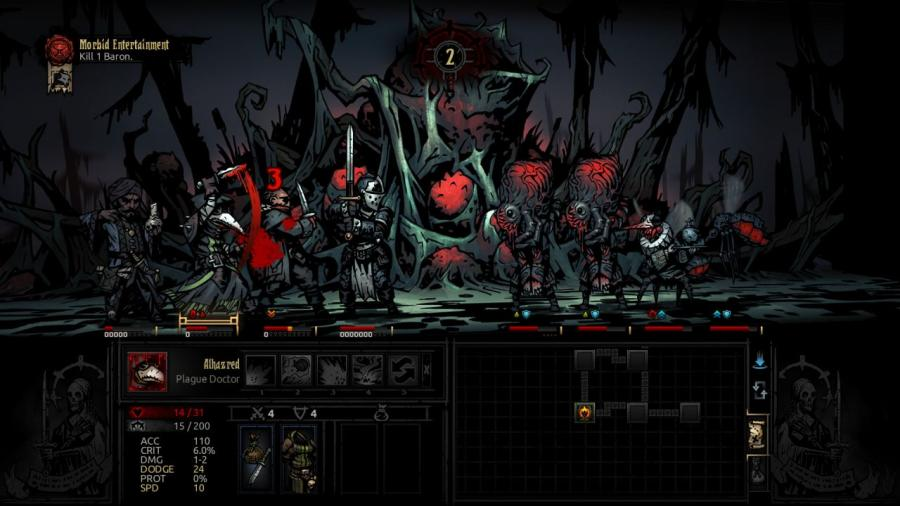 Darkest Dungeon - The Crimson Court (DLC) Screenshot 5