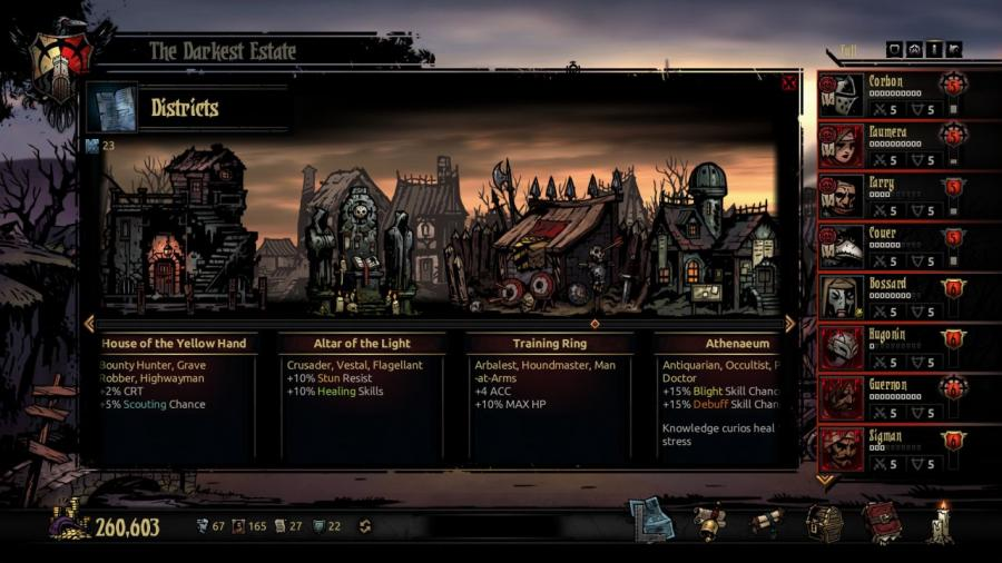 Darkest Dungeon - The Crimson Court (DLC) Screenshot 6
