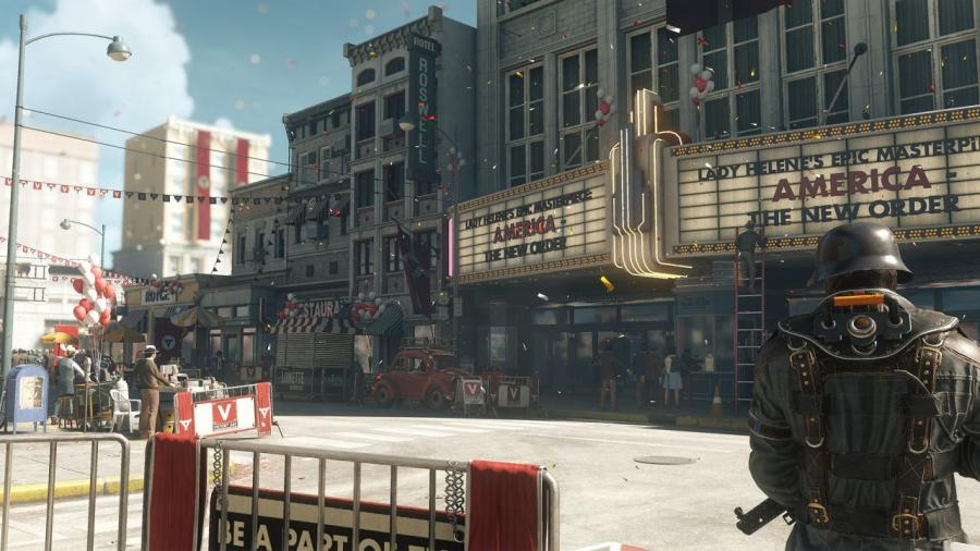Wolfenstein II - The New Colossus DE/AT Key Screenshot 3