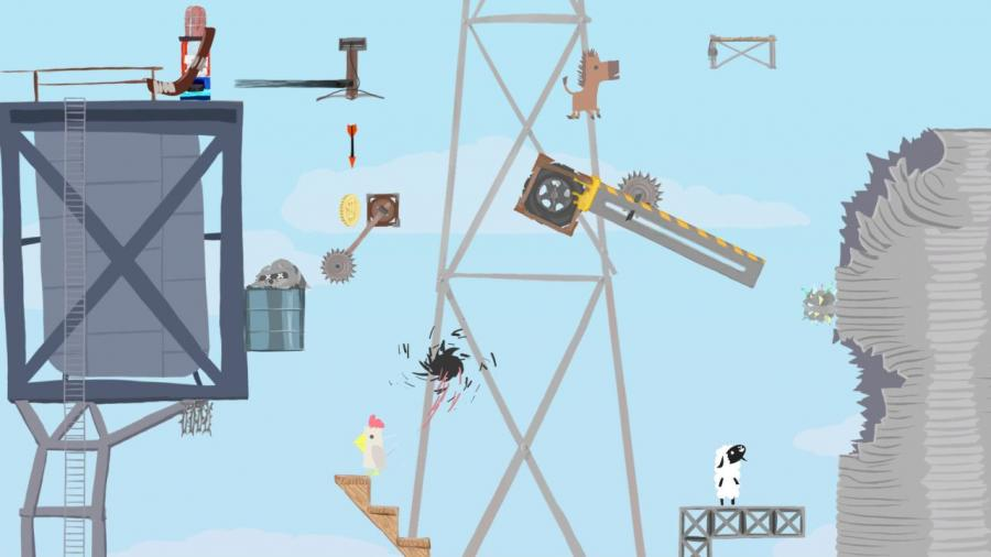 Ultimate Chicken Horse Screenshot 8