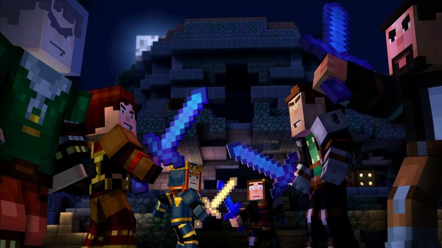 Minecraft Story Mode - A Telltale Games Series Screenshot 2