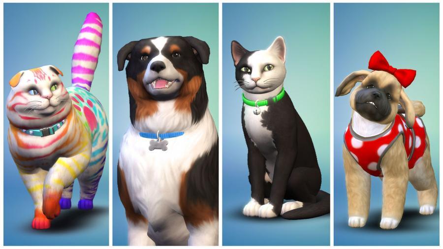 The Sims 4 + Cats & Dogs Bundle (original game + expansion) Screenshot 2