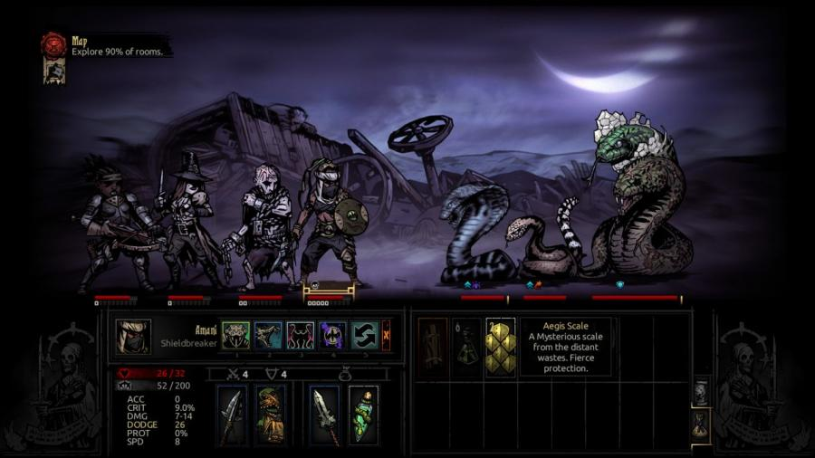 Darkest Dungeon - The Shieldbreaker (DLC) Screenshot 4