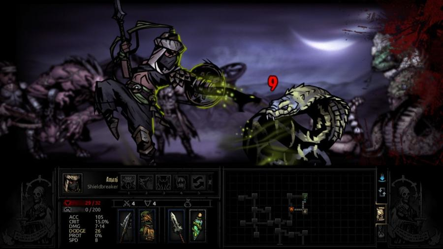 Darkest Dungeon - The Shieldbreaker (DLC) Screenshot 5