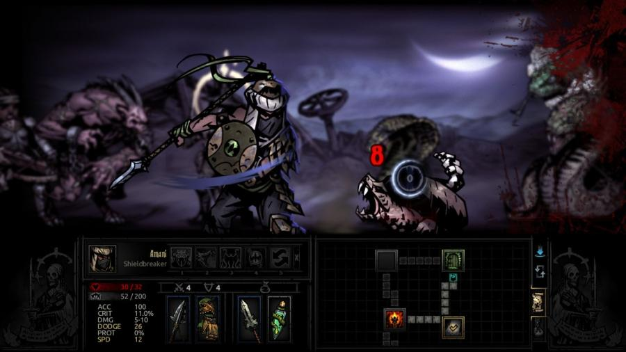 Darkest Dungeon - The Shieldbreaker (DLC) Screenshot 8