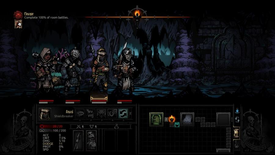 Darkest Dungeon - The Shieldbreaker (DLC) Screenshot 2