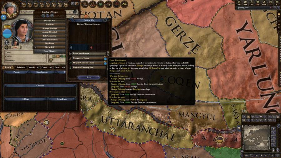 Crusader Kings II - Jade Dragon (DLC) Screenshot 3