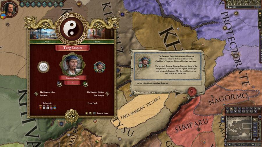 Crusader Kings II - Jade Dragon (DLC) Screenshot 6