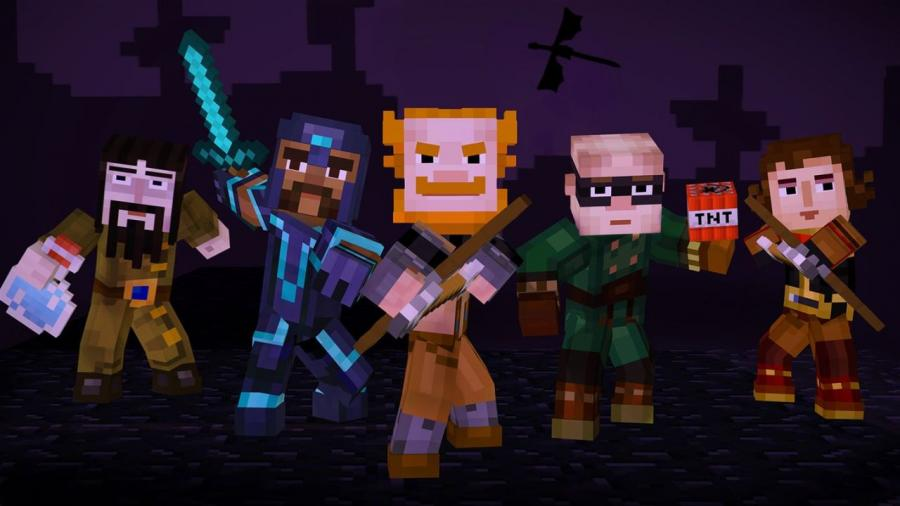 Minecraft Story Mode - The Complete Adventure (Xbox One Download Code) Screenshot 8