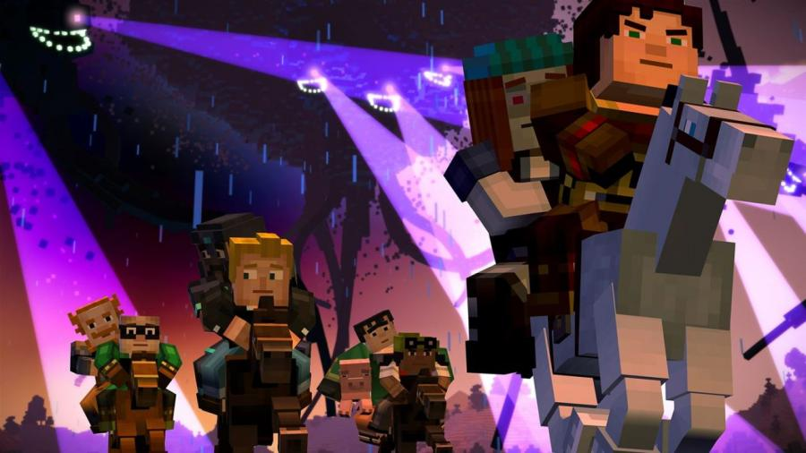 Minecraft Story Mode - The Complete Adventure (Xbox One Download Code) Screenshot 1