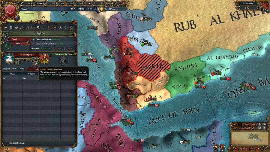 Europa Universalis IV - Cradle of Civilization Collection Screenshot 4
