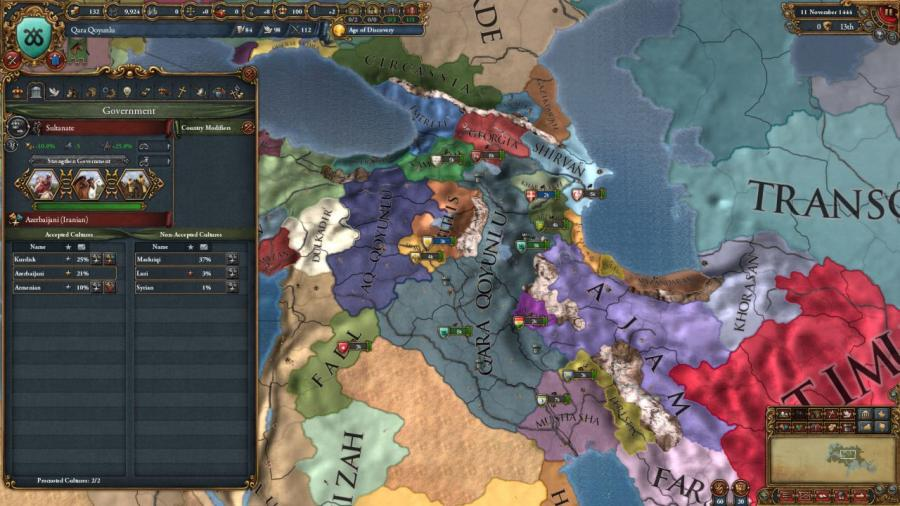 Europa Universalis IV - Cradle of Civilization Collection Screenshot 2