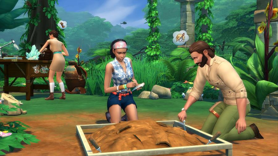 The Sims 4 - Jungle Adventure Bundle (DLC) Screenshot 5