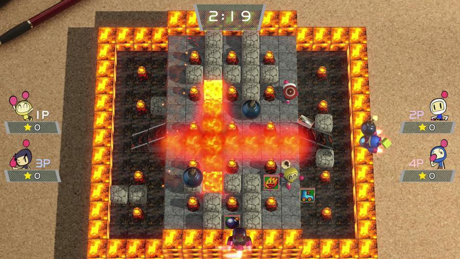 Super Bomberman R Screenshot 4