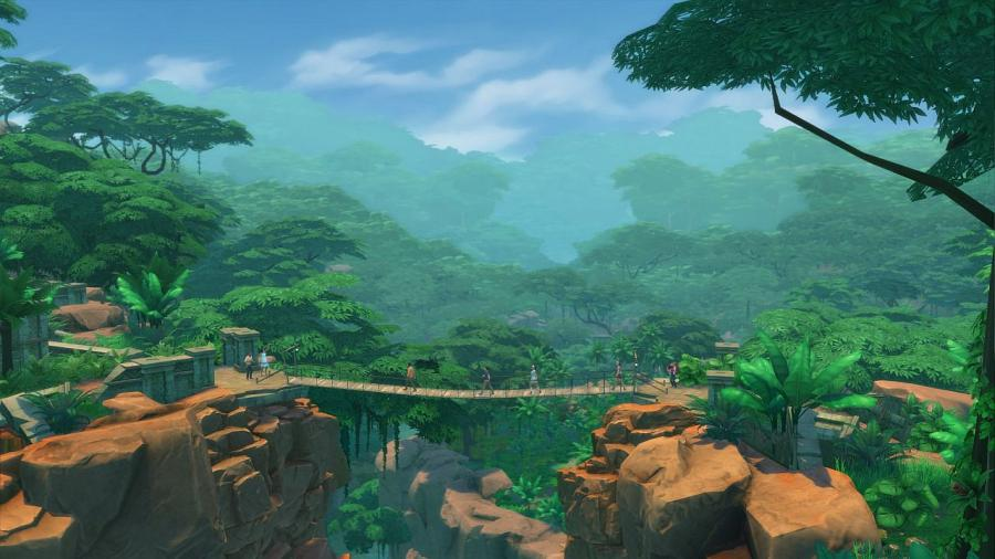 The Sims 4 - Jungle Adventure (DLC) Screenshot 2