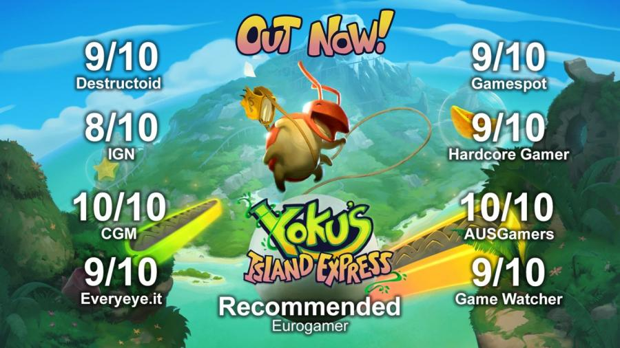 Yoku's Island Express Screenshot 8