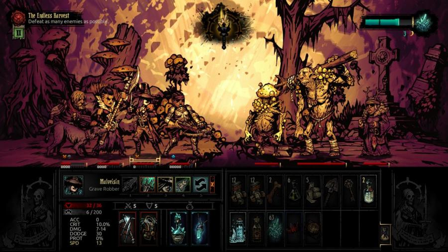 Darkest Dungeon - The Color of Madness (DLC) Screenshot 5