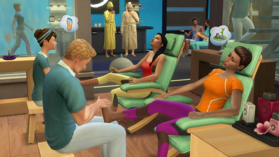 The Sims 4 - Spa Day (Addon) Screenshot 1