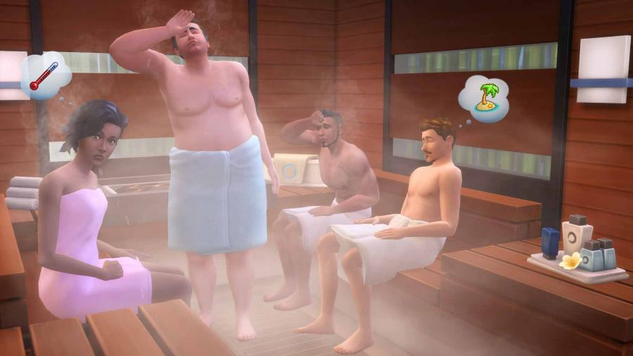 The Sims 4 - Spa Day (Addon) Screenshot 3