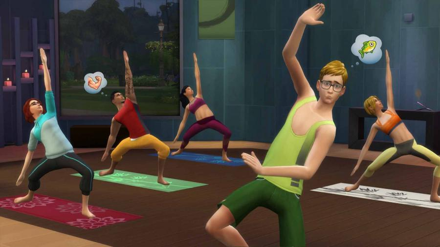 The Sims 4 - Spa Day (Addon) Screenshot 2