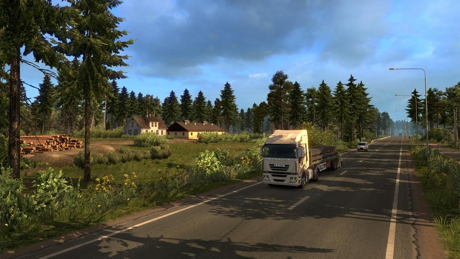 Euro Truck Simulator 2 - Beyond the Baltic Sea (DLC) Screenshot 2