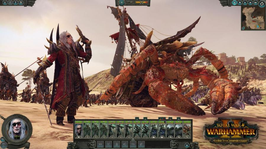 Total War Warhammer 2 - Curse of the Vampire Coast (DLC) Screenshot 8