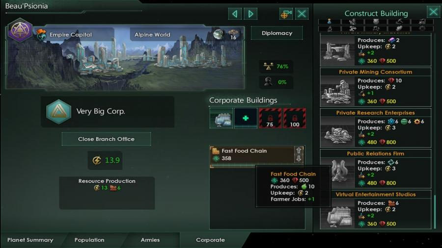 Stellaris - MegaCorp (DLC) Screenshot 8