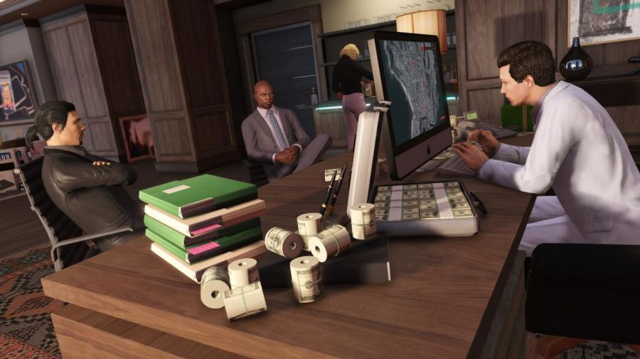 GTA 5 + Criminal Enterprise Starter Pack + Megalodon Shark Card Bundle Screenshot 2