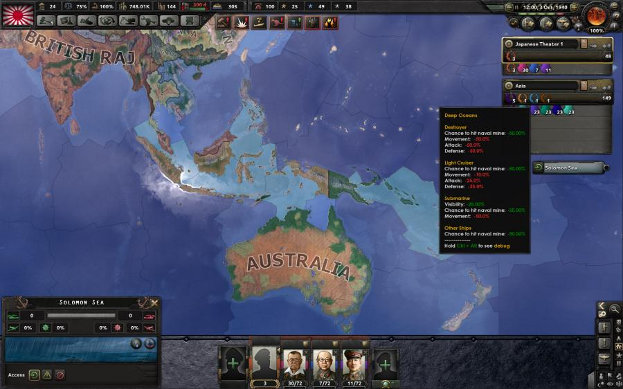 Hearts of Iron IV - Man the Guns (DLC) Screenshot 3