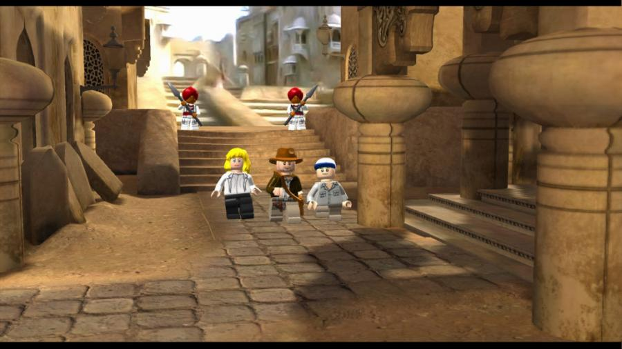 LEGO Indiana Jones - The Original Adventures Screenshot 4