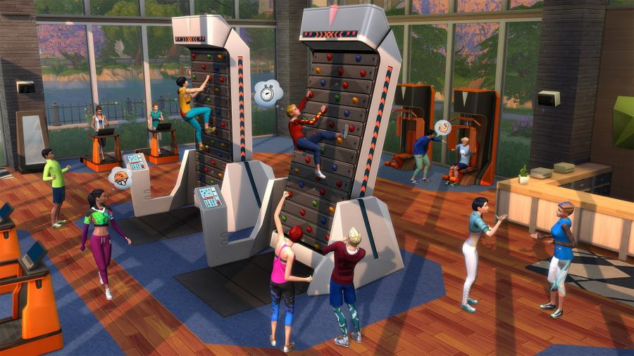 The Sims 4 - Fitness Stuff (DLC) Screenshot 2